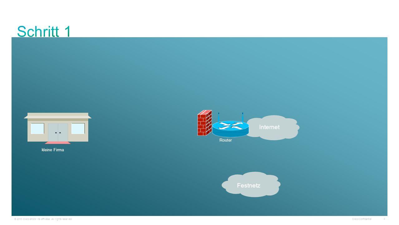 Schritt 1 Internet Festnetz