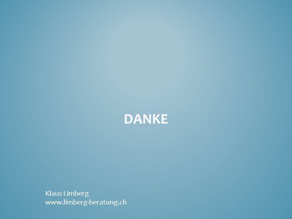 Danke Klaus Limberg www.limberg-beratung.ch
