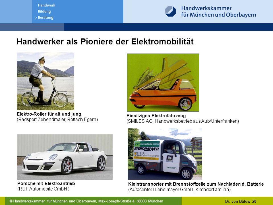 Handwerker als Pioniere der Elektromobilität