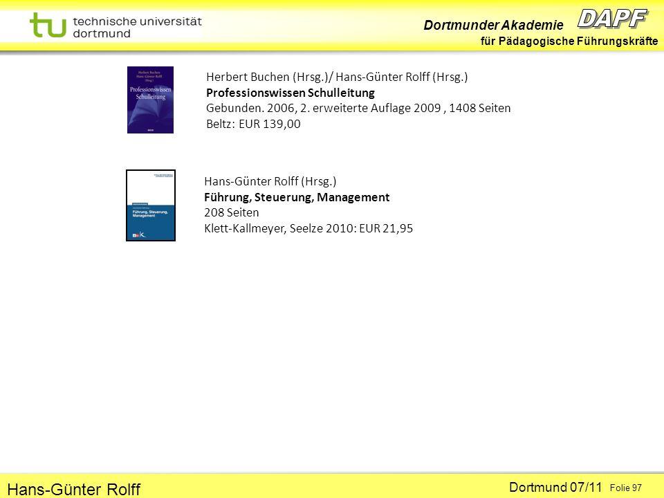 Herbert Buchen (Hrsg. )/ Hans-Günter Rolff (Hrsg