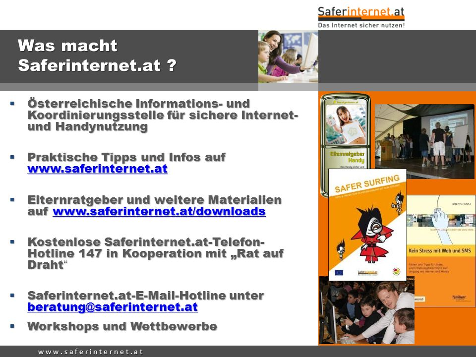 Was macht Saferinternet.at