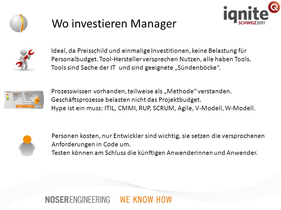 Wo investieren Manager