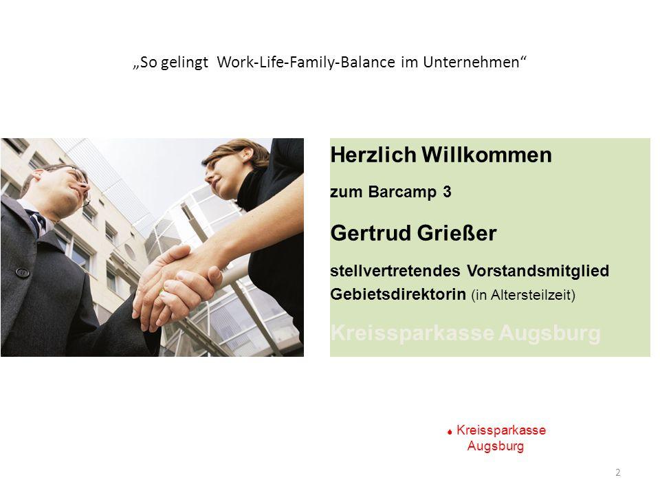 """So gelingt Work-Life-Family-Balance im Unternehmen"