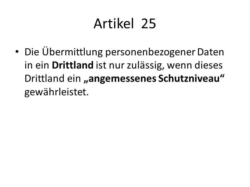 Artikel 25