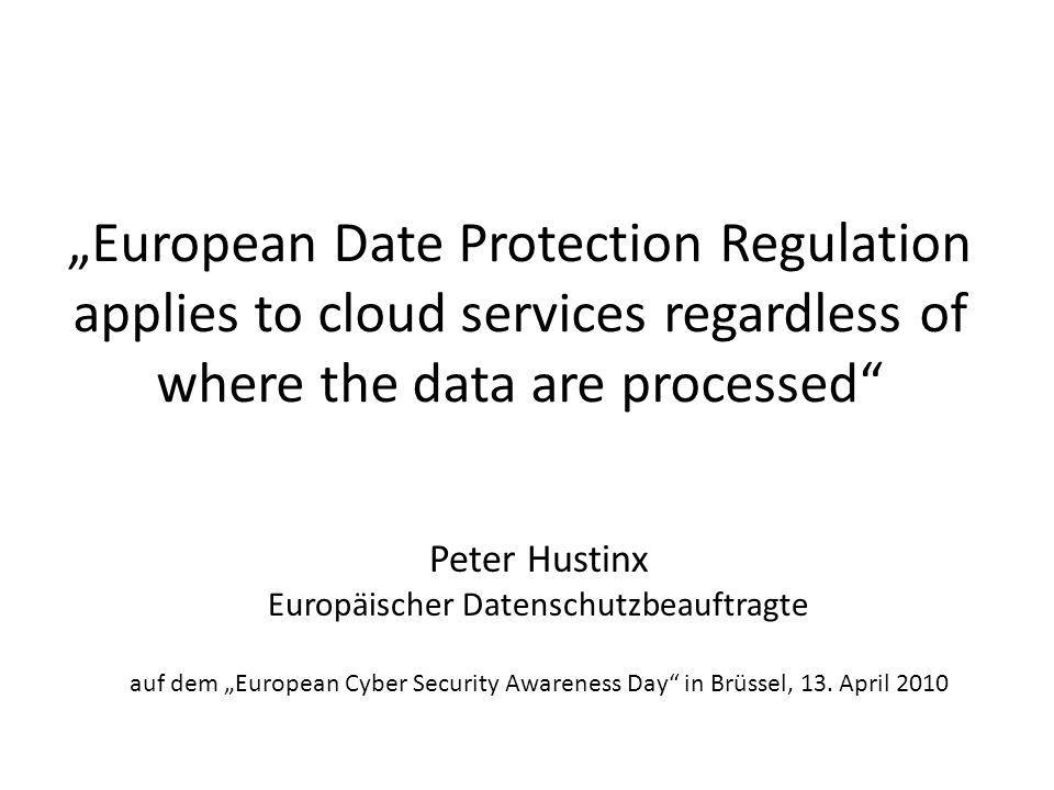 Europäischer Datenschutzbeauftragte