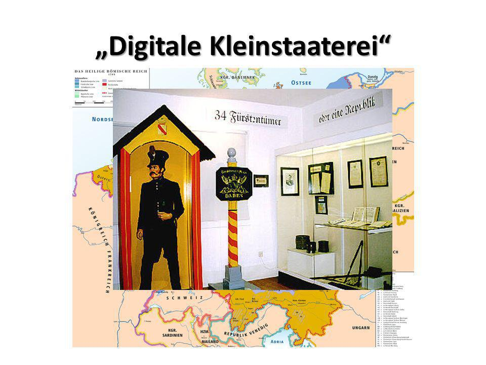 """""""Digitale Kleinstaaterei"""