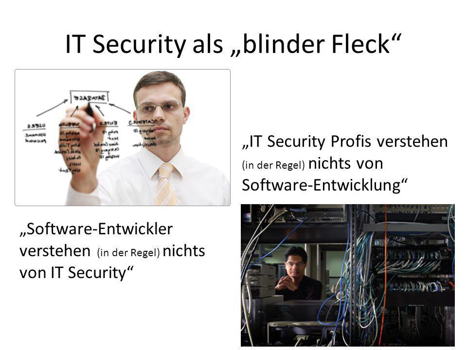 "IT Security als ""blinder Fleck"
