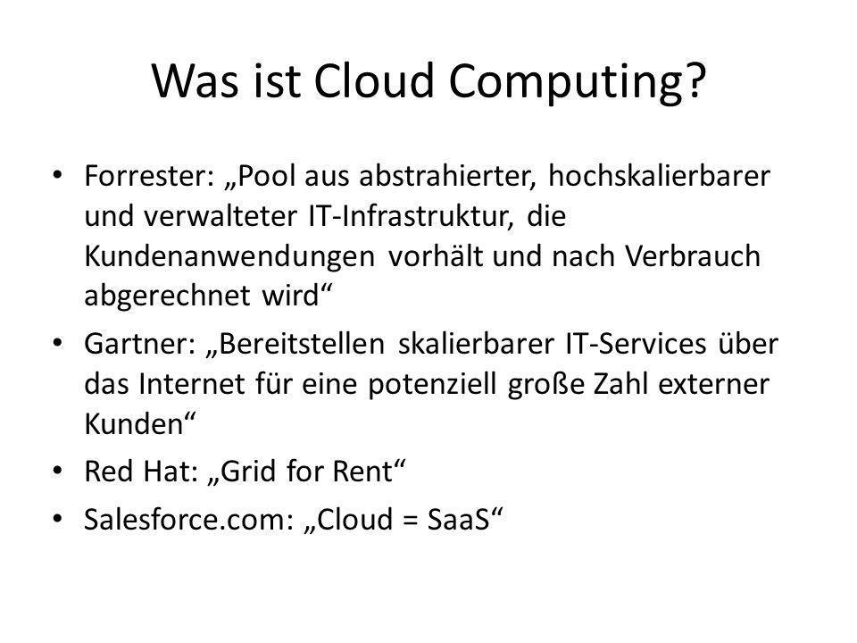 Was ist Cloud Computing