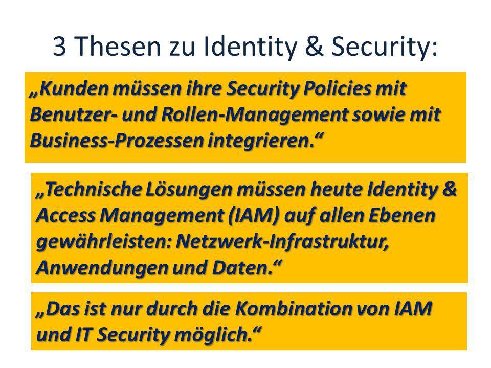3 Thesen zu Identity & Security: