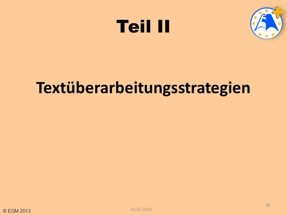 Textüberarbeitungsstrategien