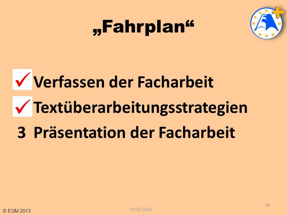 Verfassen der Facharbeit Textüberarbeitungsstrategien