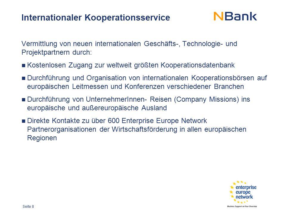Internationaler Kooperationsservice