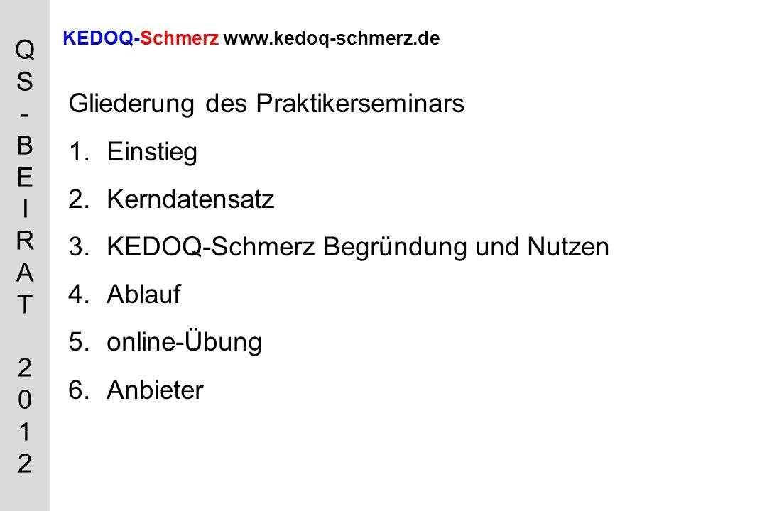 KEDOQ-Schmerz www.kedoq-schmerz.de