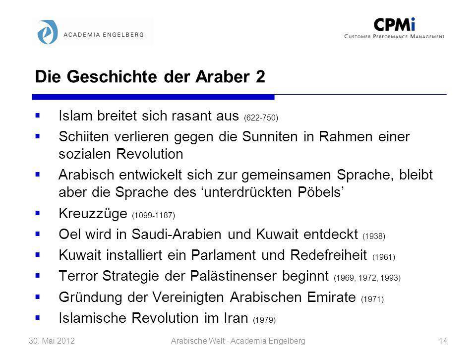 Die Geschichte der Araber 2