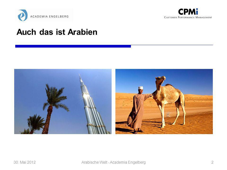 Arabische Welt - Academia Engelberg