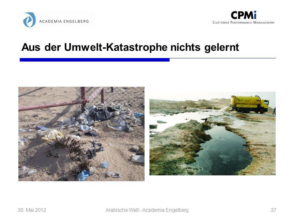 Aus der Umwelt-Katastrophe nichts gelernt