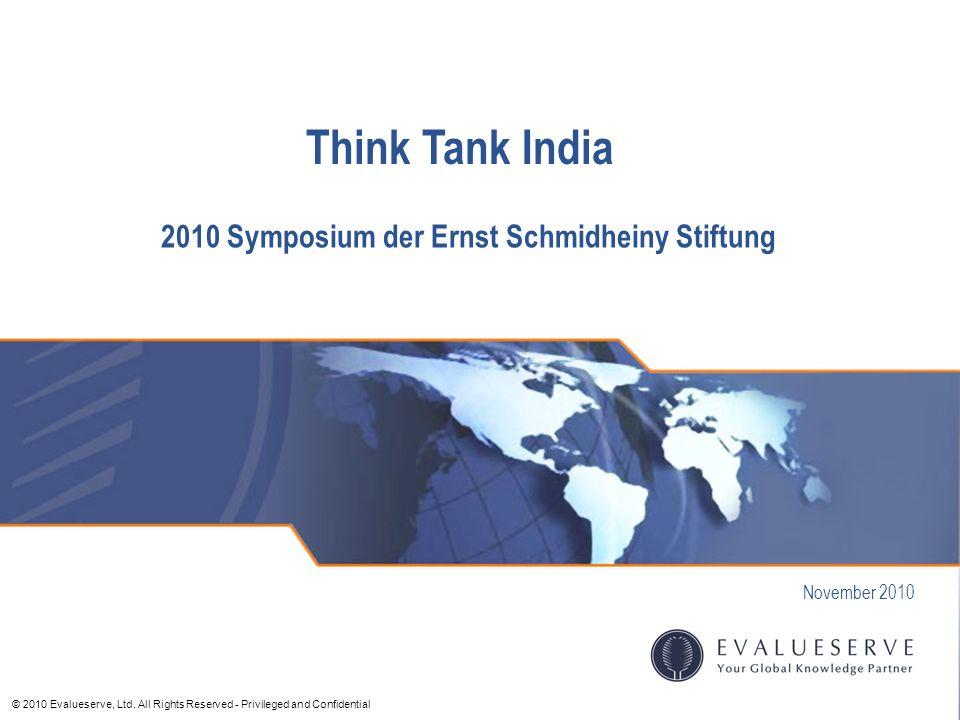 2010 Symposium der Ernst Schmidheiny Stiftung