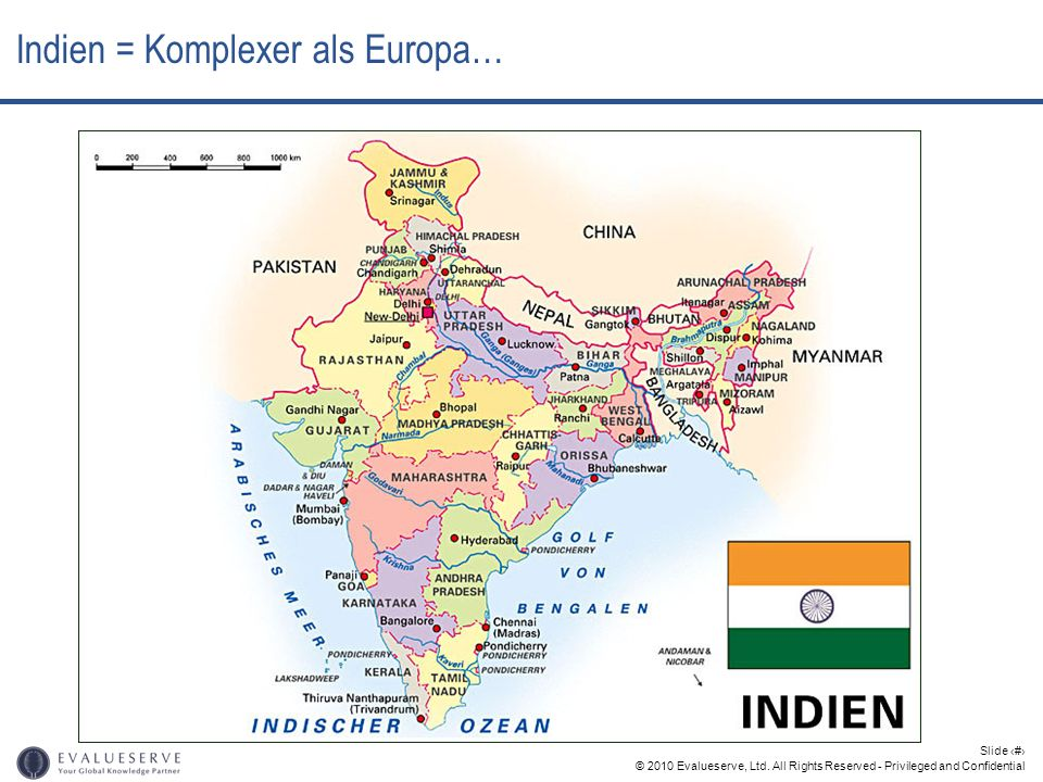 Indien = Komplexer als Europa…
