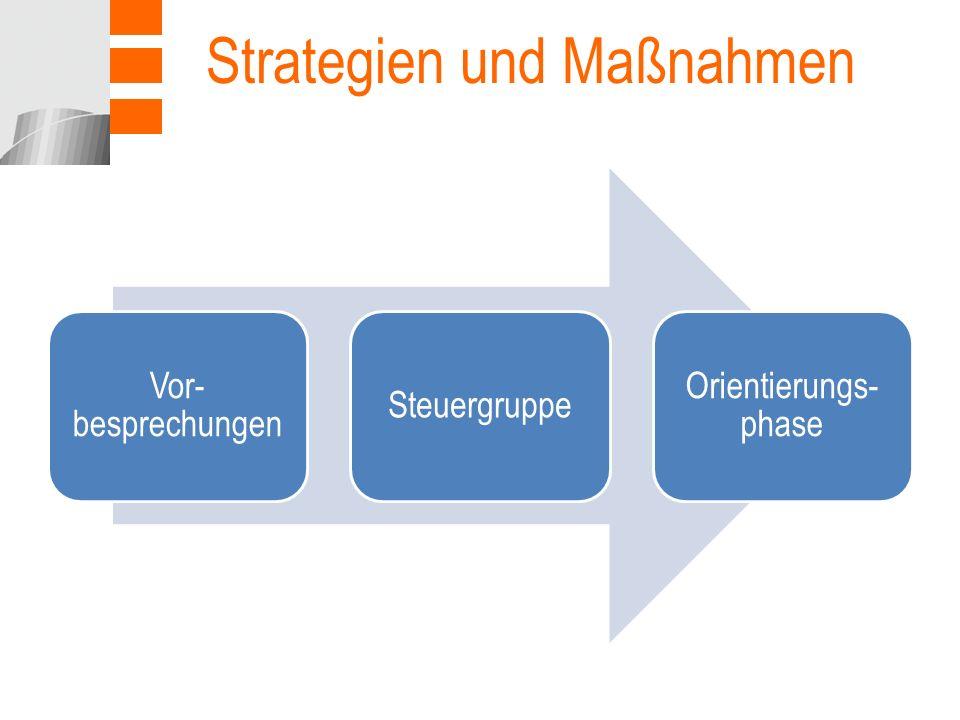 Strategien und Maßnahmen