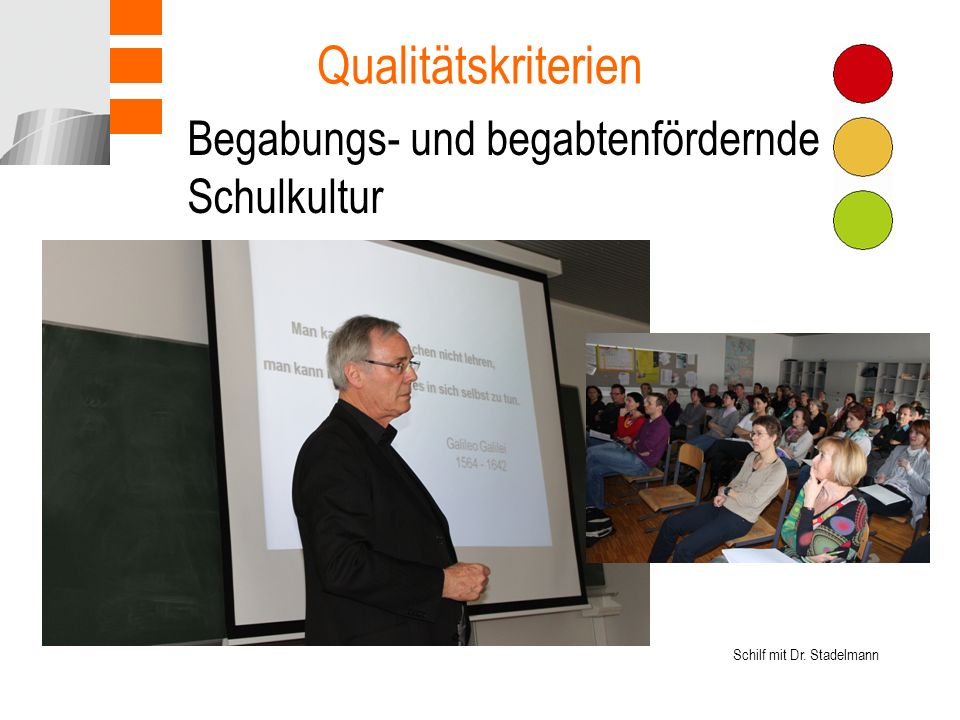 Qualitätskriterien Begabungs- und begabtenfördernde Schulkultur