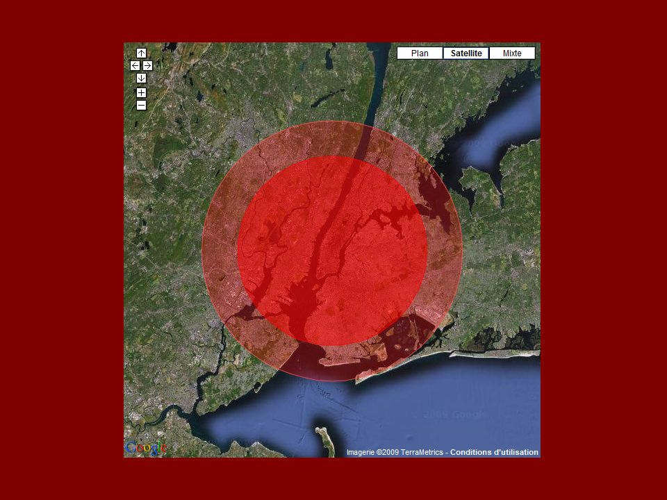 Über diesen riesigen Flächenbrand hinaus würde die Zerstörung weitergehen.