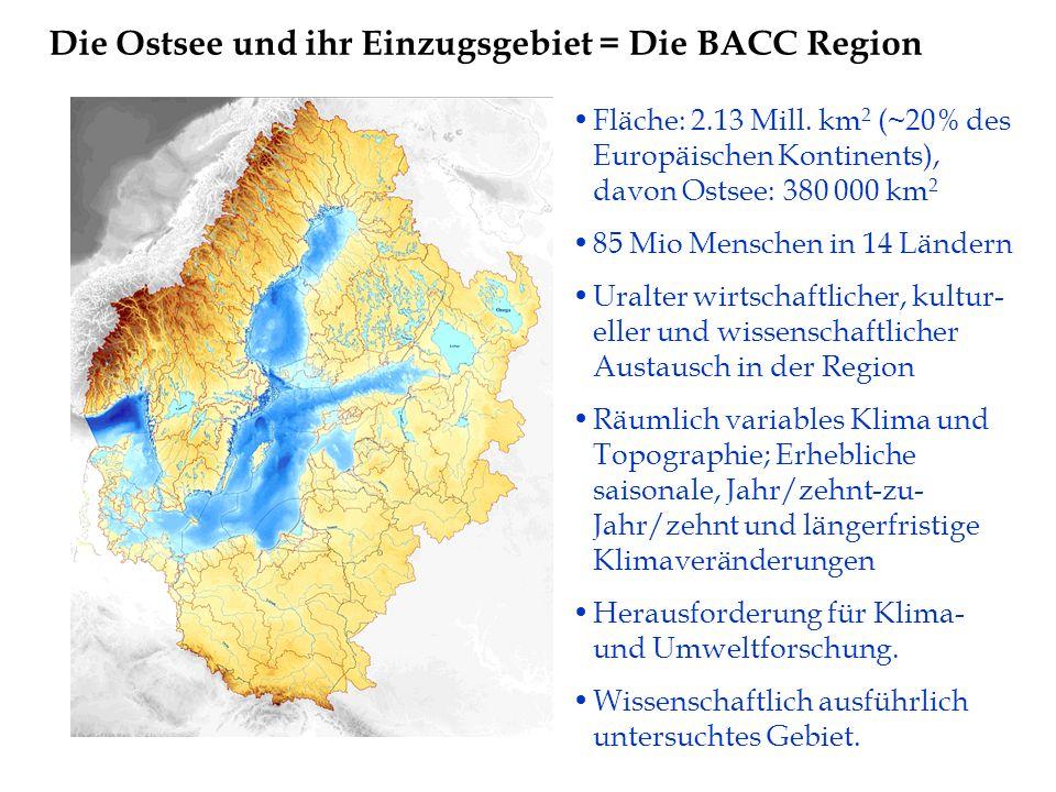 Die Ostsee und ihr Einzugsgebiet = Die BACC Region