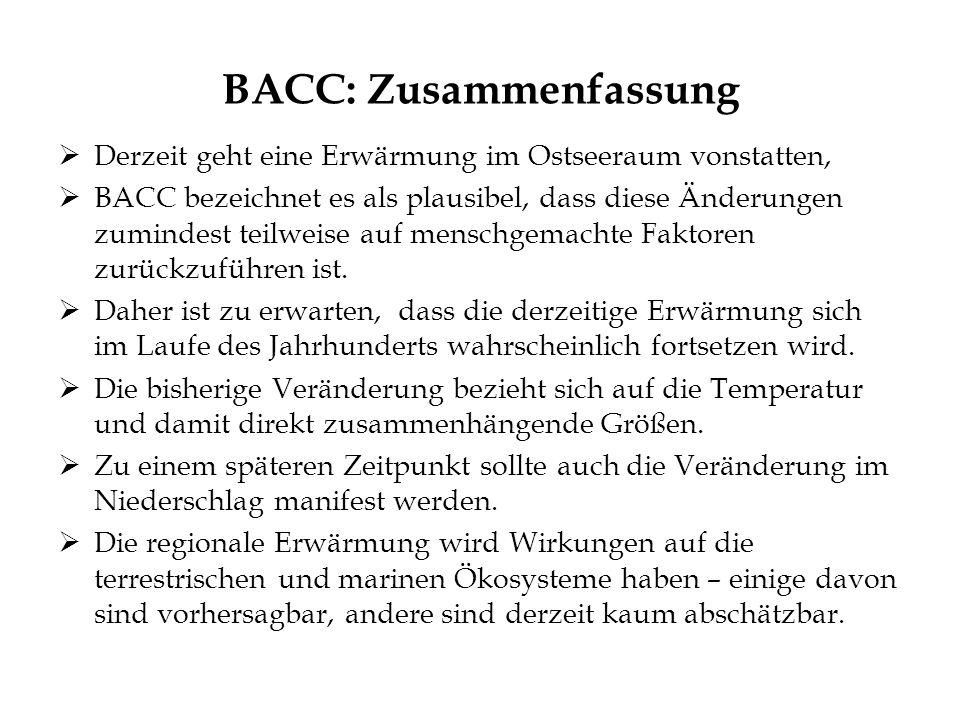 BACC: Zusammenfassung