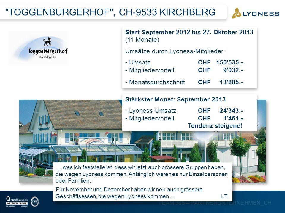 TOGGENBURGERHOF , CH-9533 KIRCHBERG