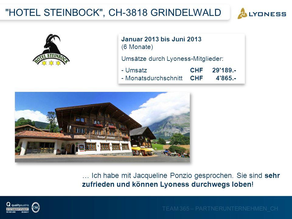 HOTEL STEINBOCK , CH-3818 GRINDELWALD