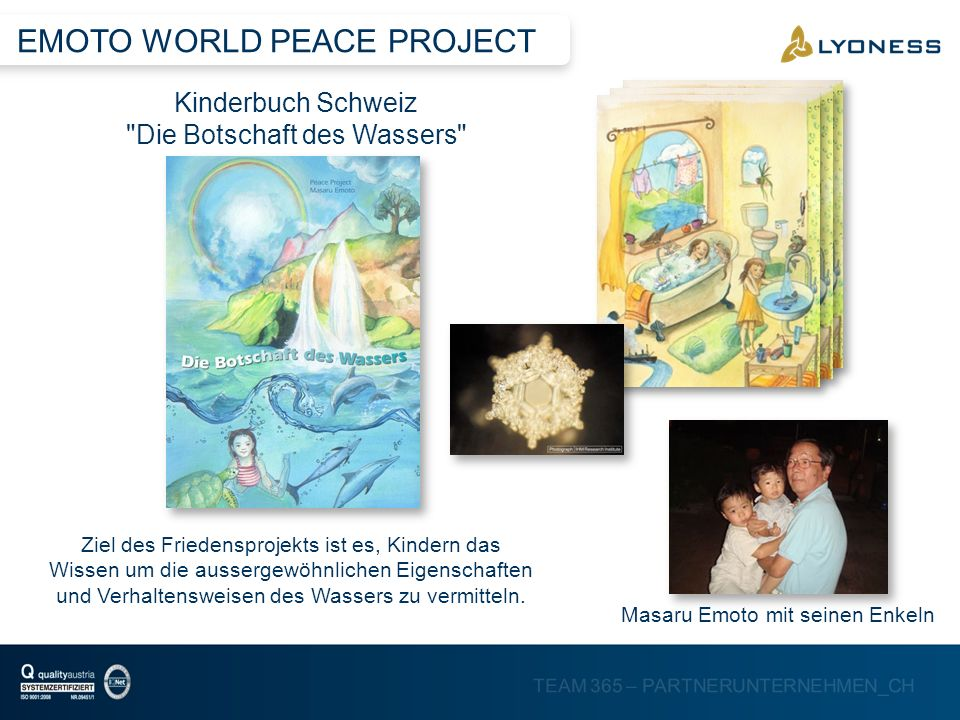 EMOTO WORLD PEACE PROJECT