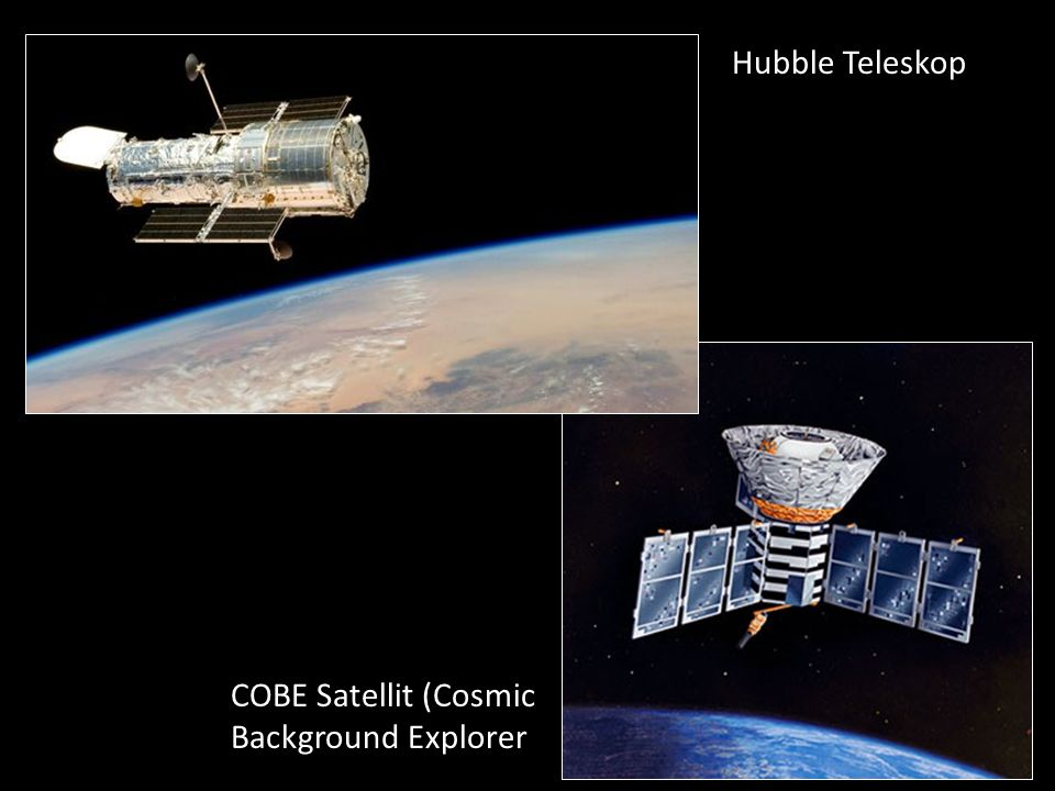 COBE Satellit (Cosmic Background Explorer