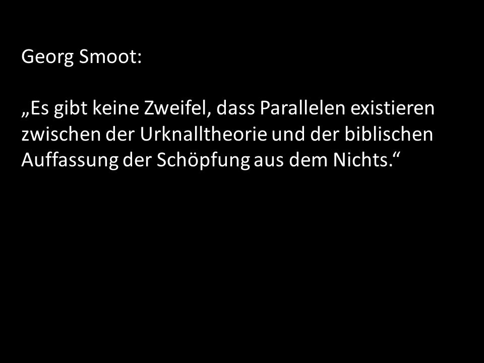 Georg Smoot: