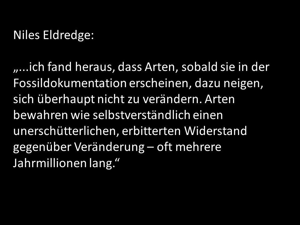Niles Eldredge: