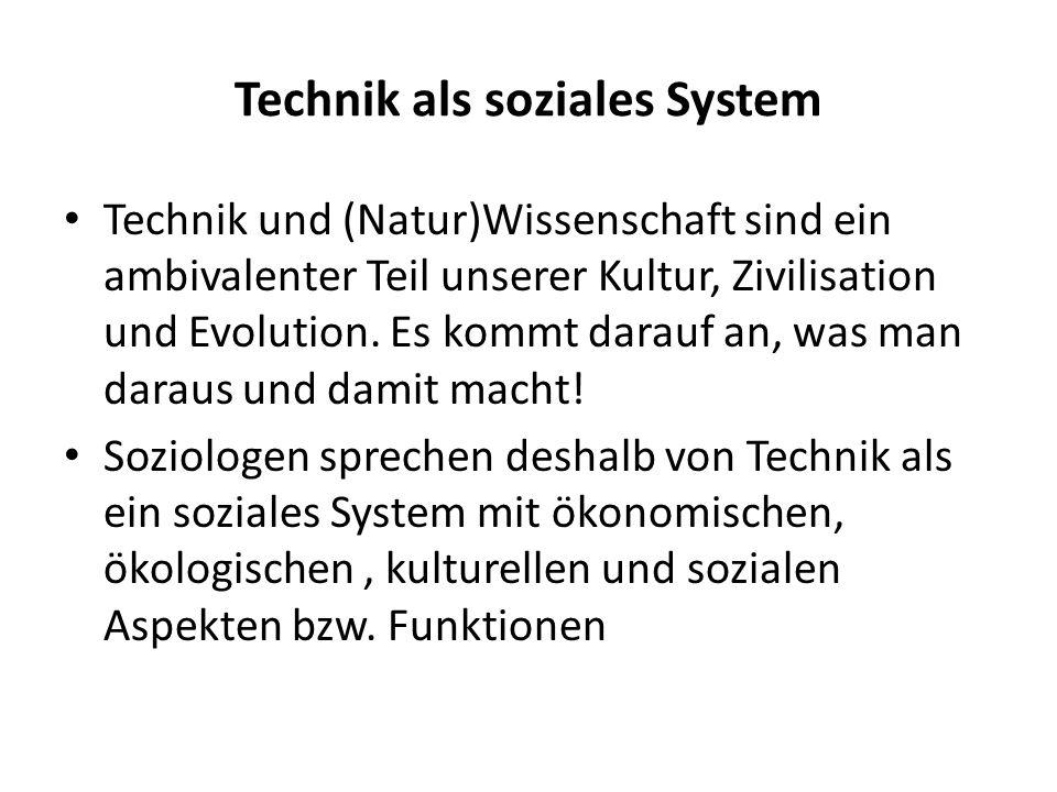 Technik als soziales System