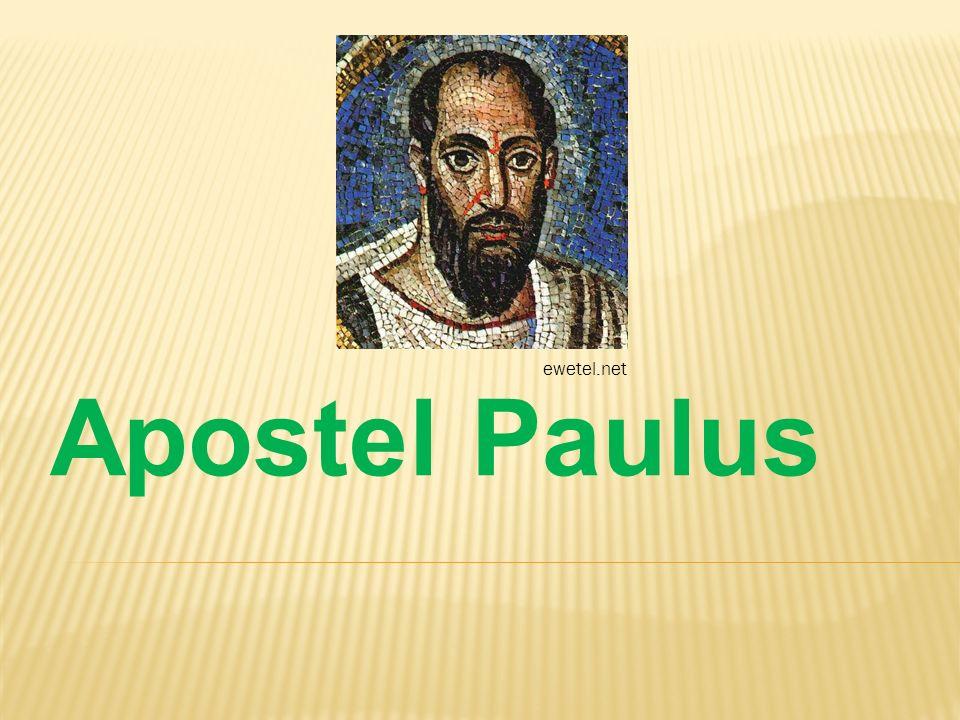 ewetel.net Apostel Paulus