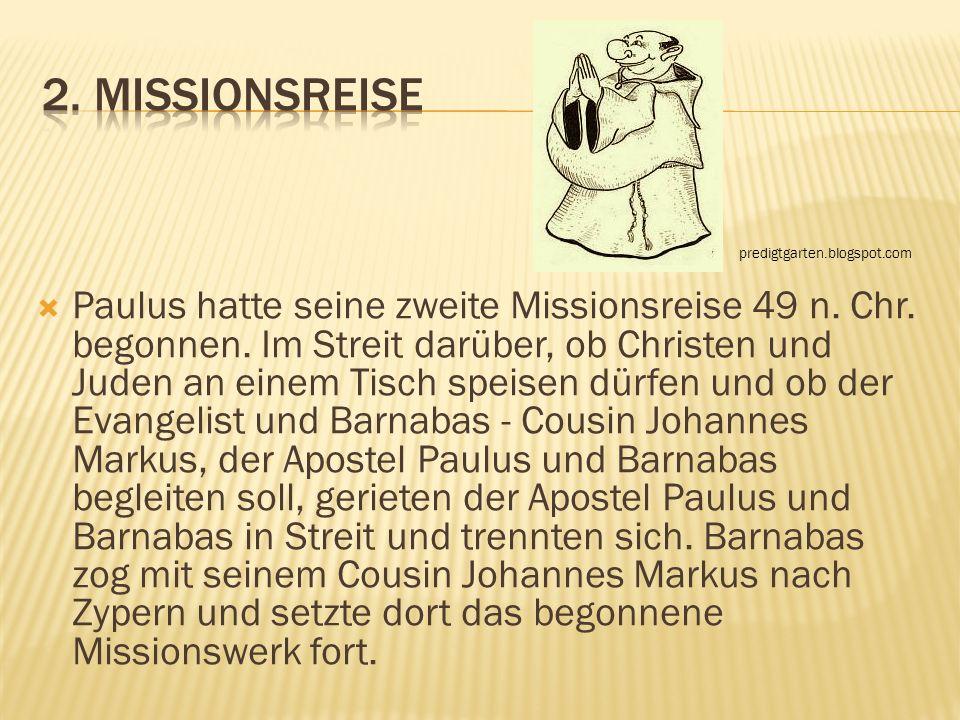2. Missionsreise predigtgarten.blogspot.com.