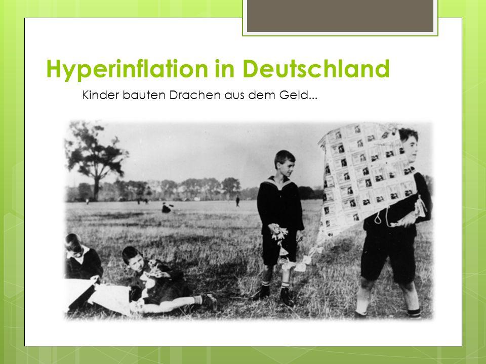 Hyperinflation in Deutschland