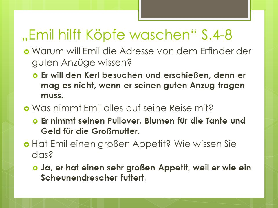 """""""Emil hilft Köpfe waschen S.4-8"""