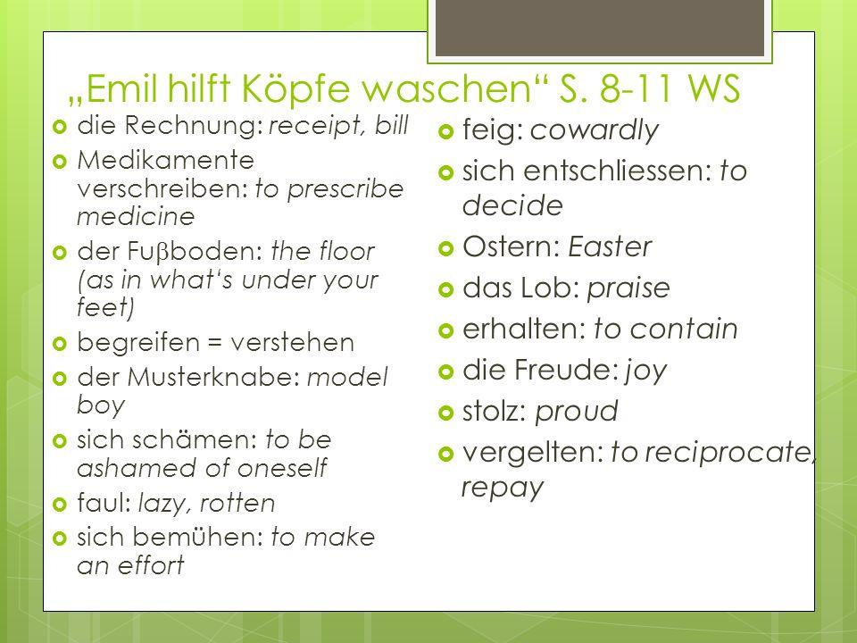 """""""Emil hilft Köpfe waschen S. 8-11 WS"""