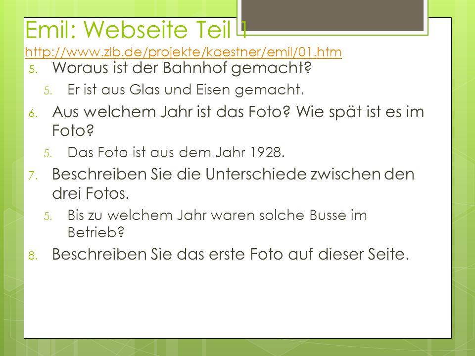 Emil: Webseite Teil 1 http://www.zlb.de/projekte/kaestner/emil/01.htm