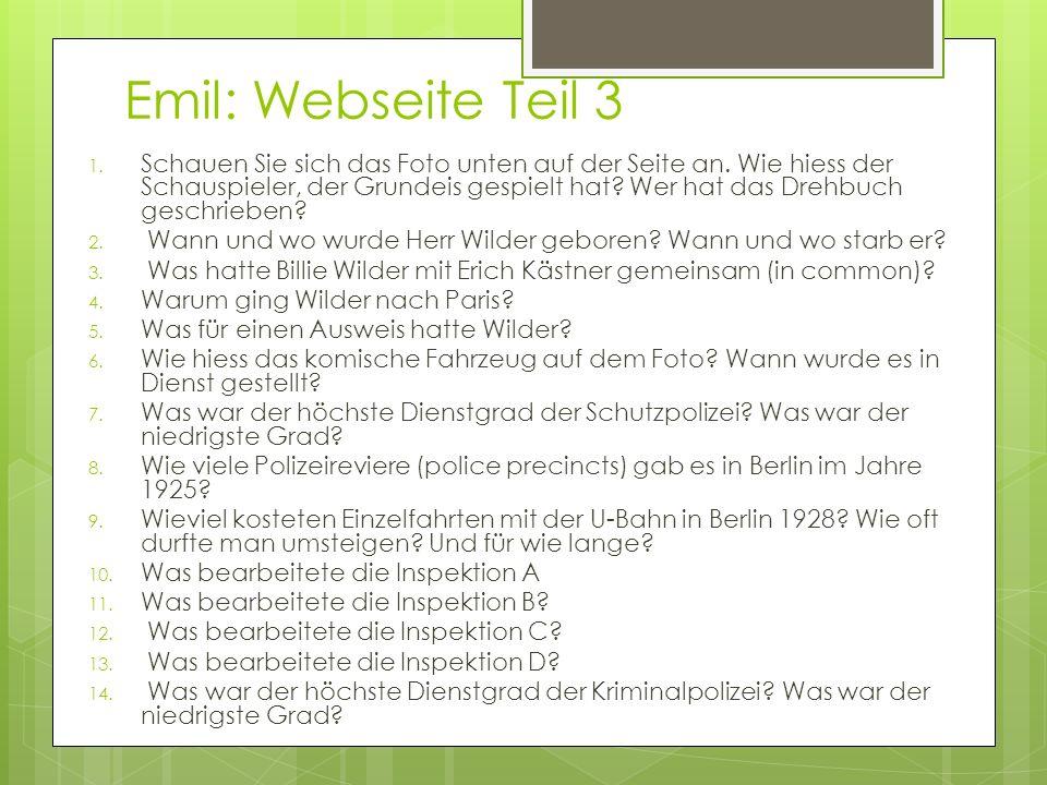 Emil: Webseite Teil 3