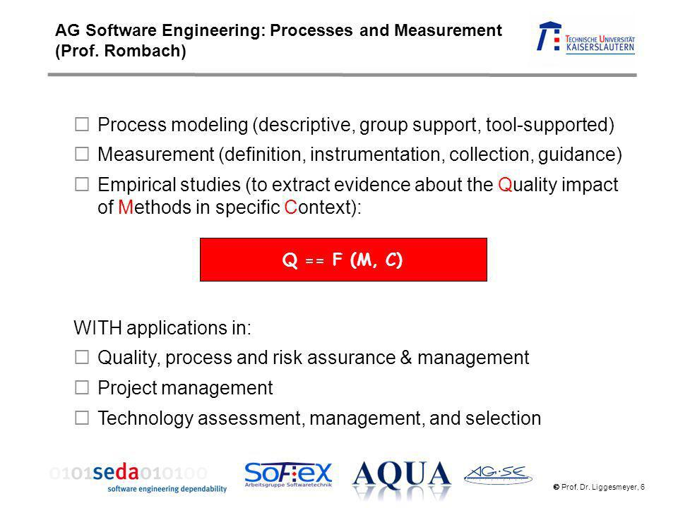 Process modeling (descriptive, group support, tool-supported)
