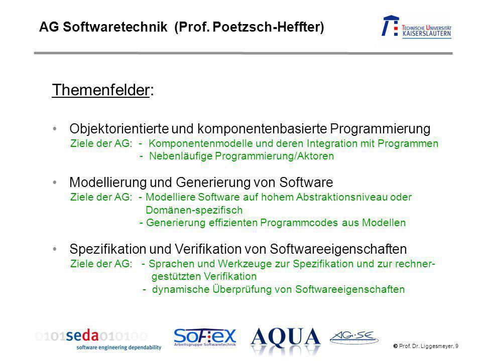 Themenfelder: AG Softwaretechnik (Prof. Poetzsch-Heffter)