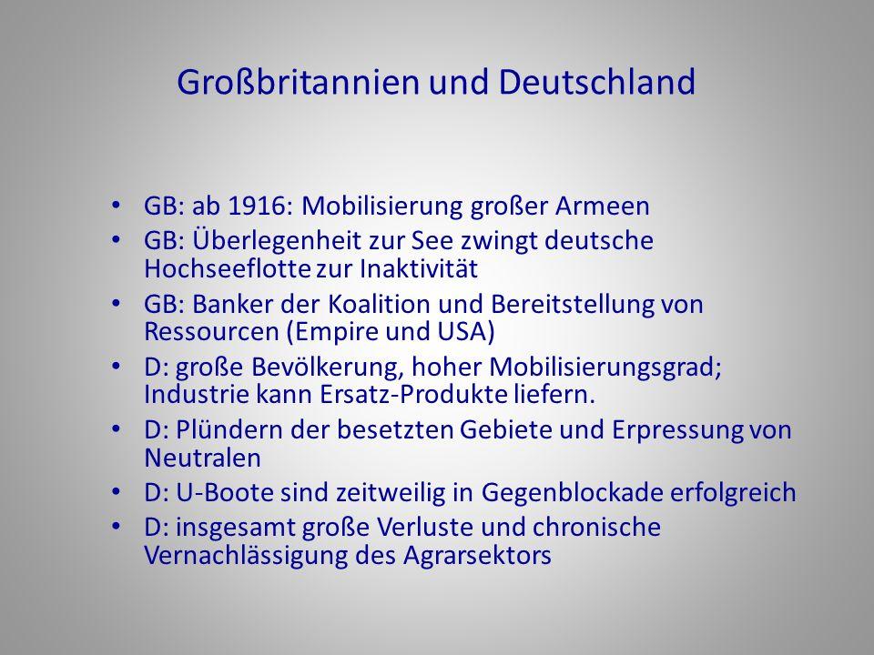 Großbritannien und Deutschland