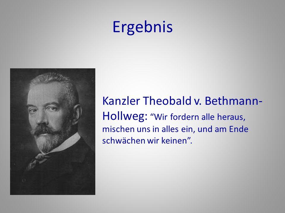 Ergebnis Kanzler Theobald v.