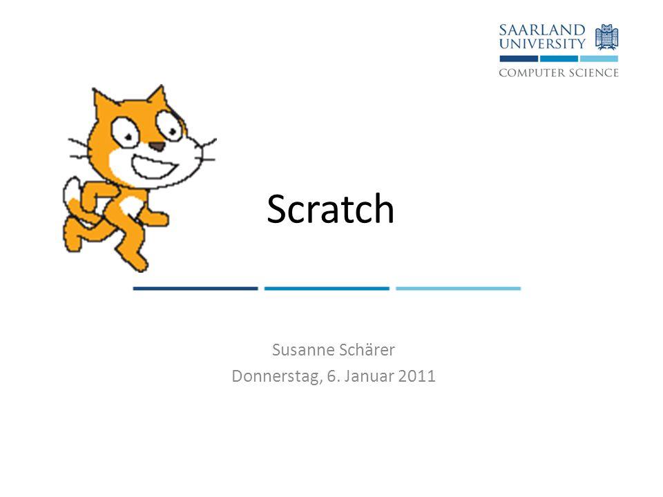 Susanne Schärer Donnerstag, 6. Januar 2011