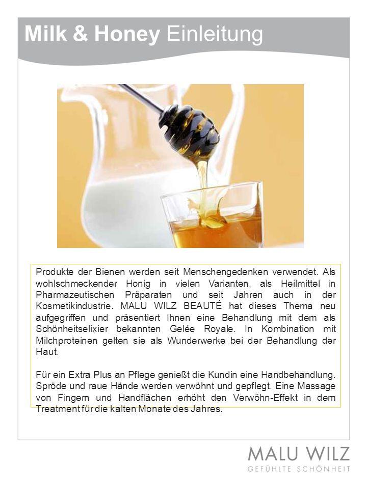 Milk & Honey Einleitung