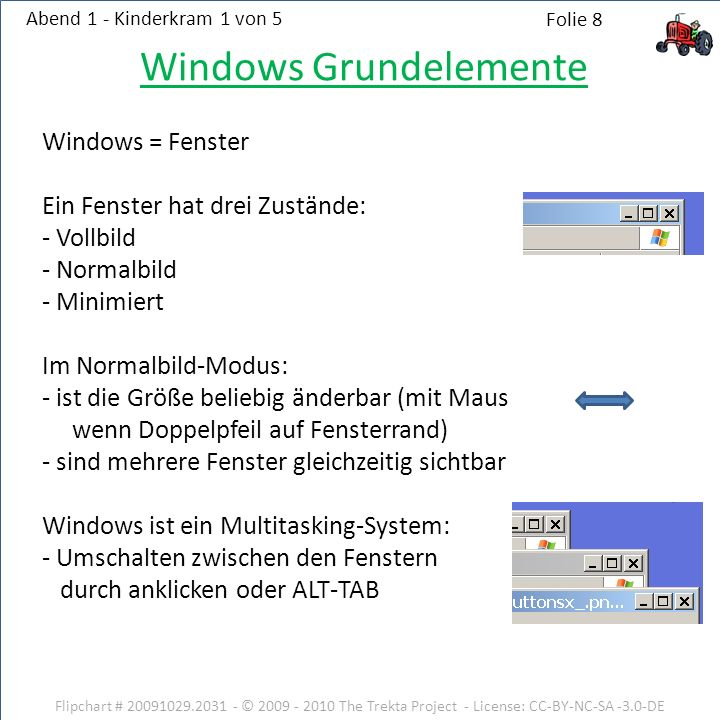 Windows Grundelemente