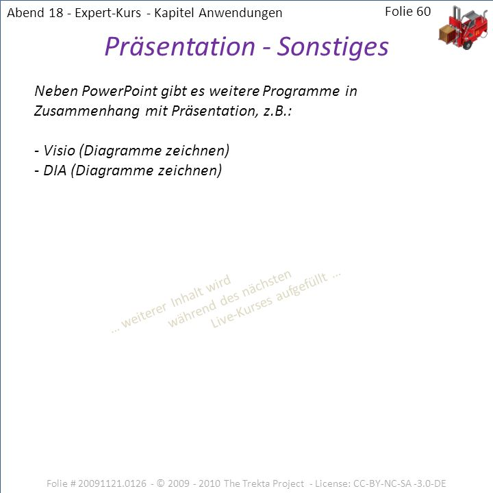 Präsentation - Sonstiges
