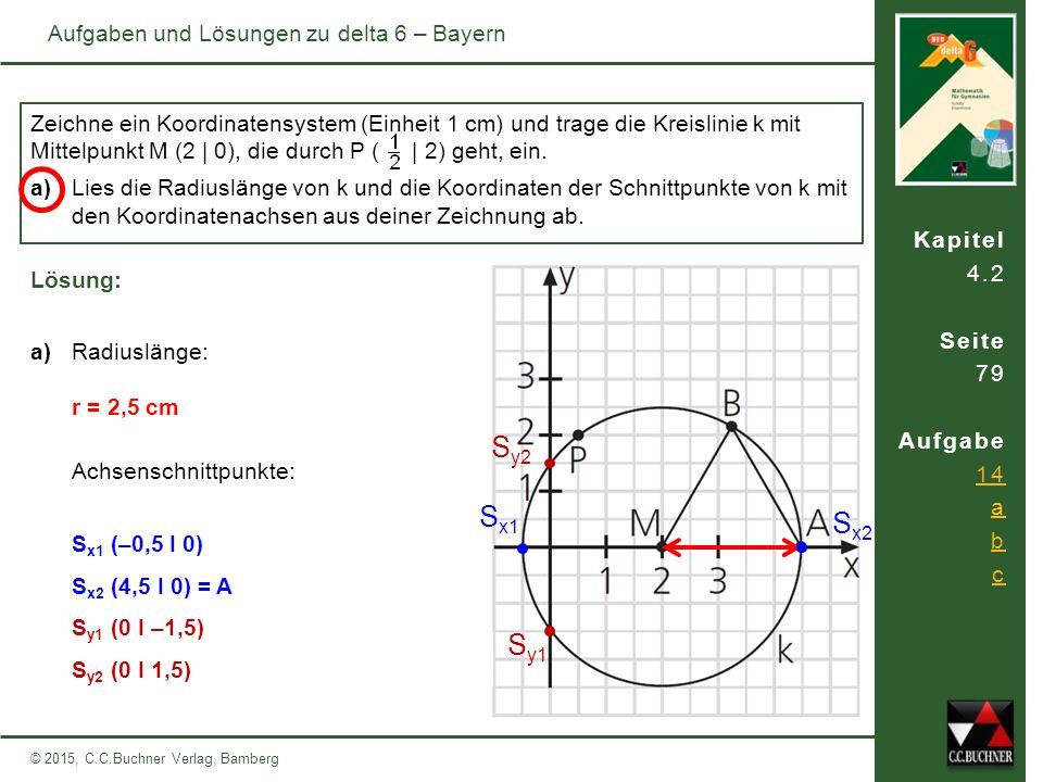 Sy2 Sx1 Sx2 Sy1 Aufgaben und Lösungen zu delta 6 – Bayern